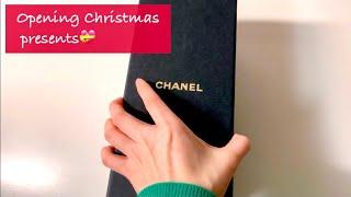 (Eng) 까르띠에 | 샤넬 크리스마스 선물 언박싱 |…
