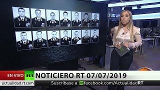 NOTICIERO RT 07/07/2019 🔴 EN 7 DÍAS