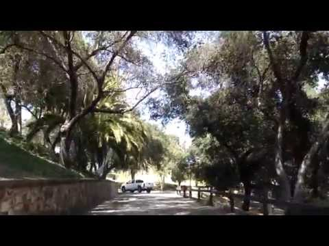 Driving through Hillcrest Park, Fullerton, California