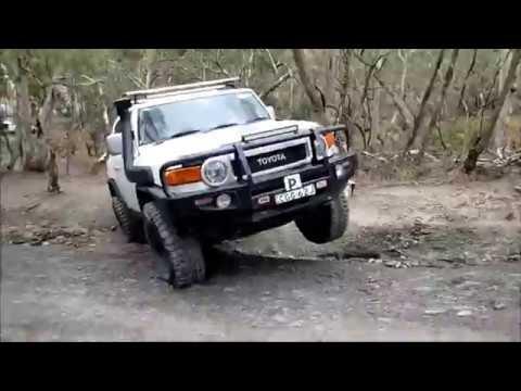 FJ Cruiser Off Road Compilation Australia  YouTube
