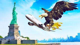 鳥が飛行機の大きさに巨大化したら、人間はエサになってしまうのか?