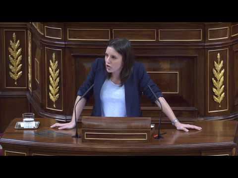 IRENE MONTERO (Podemos) - Moción de Censura a RAJOY (13/06/2017)