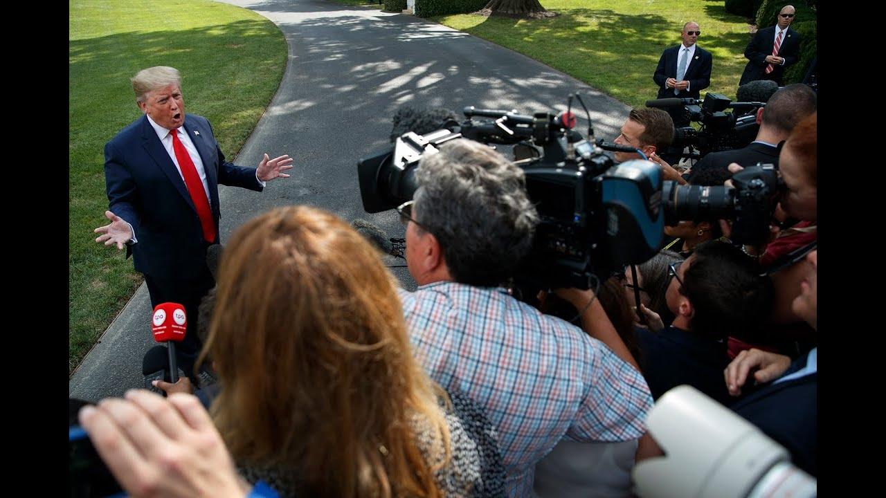 'I held Joe Biden accountable': Trump shows the 'corrupt media' how to do their