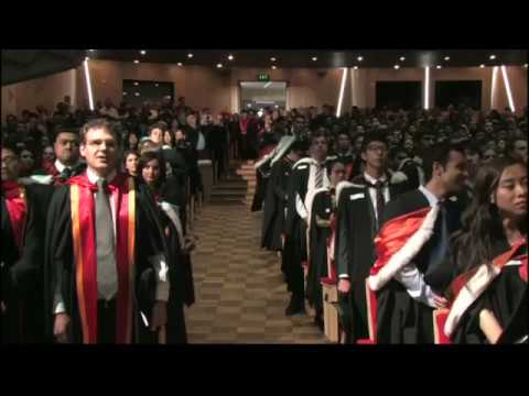 2012 Spring Graduation Ceremony 2: Faculty of Business and Economics and Faculty of Law
