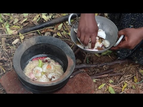 CRAB CURRY - CRAB RECIPE MAKING - COUNTRY FOOD