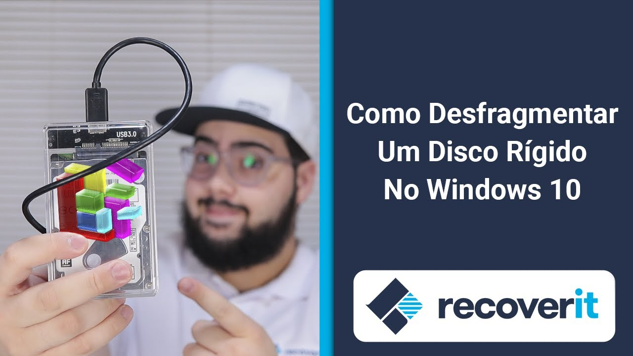 Como desfragmentar um Disxo Rígido no Windows 10