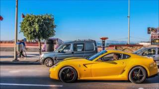 Les voitures de luxe   Casablanca Maroc 2016