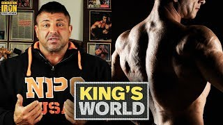 How To Build Massive Boulder Shoulders With King Kamali | King's World | Training Guide