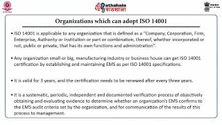 Environmental Management System (ISO 14000)