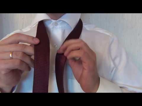 Как завязать галстук узел виндзор