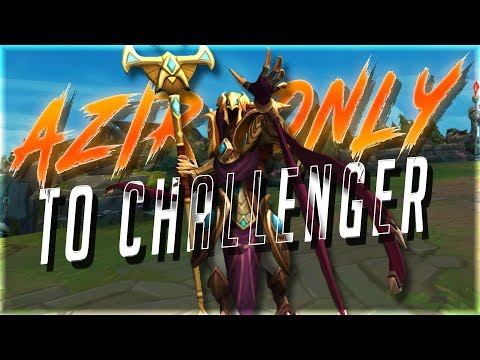 Drift King | AZIR ONLY to CHALLENGER In 1 WEEK