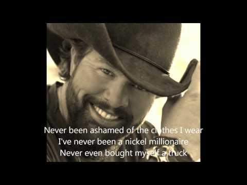 Toby Keith - I Won't Let You Down - Lyrics mp3