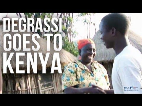 Degrassi in Kenya - Water Walk