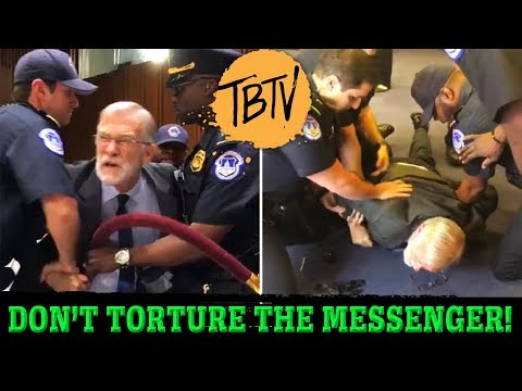 Former CIA Ray McGovern Roughed Up Asking Gina Haspel About Torture!