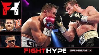 FIGHTHYPE LIVE - CANELO VS. GOLOVKIN 2: CLEAR WIN, CLOSE FIGHT, OR ROBBERY?