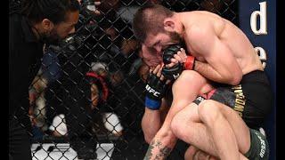 Khabib vs McGregor review!Khabib mauls Conor 2 4th rd submission!UFC will protect Money man Conor