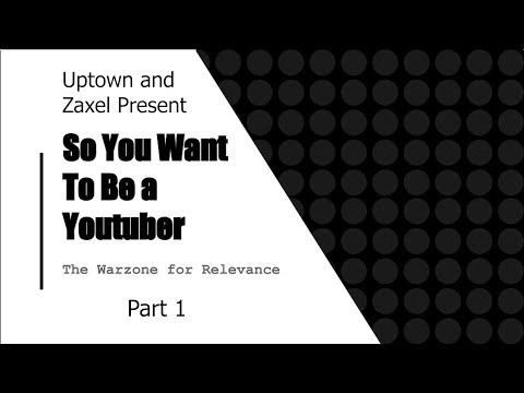 So You Want to Be a YouTuber PART 1  COLLAB w/ ZaxelZach   Kumoricon 2017