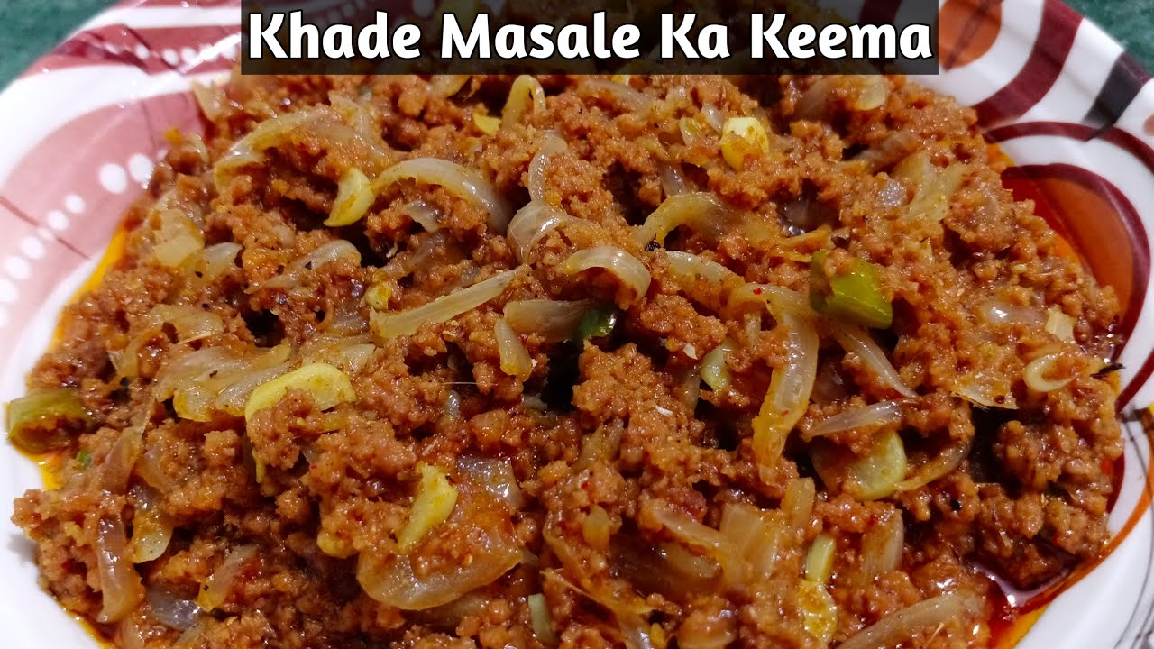 Khade Masale Ka Keema | खड़े मसाले का कीमा | Tasty & Delicious Recipe By Lucknow Zaika