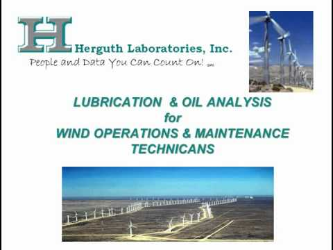 oil analysis for wind turbine maintenance introduction