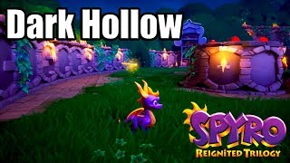 SPYRO REIGNITED TRILOGY [PS4 PRO] Gameplay - Dark Hollow Level (SPYRO THE DRAGON)