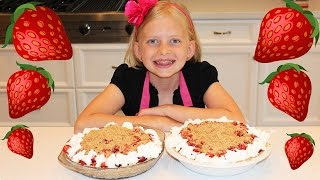 Kid Size Cooking: Fresh Strawberry Pie