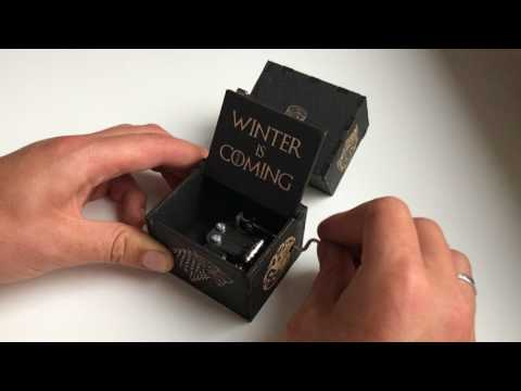 Music Box Game Of Thrones By EnjoyTheWood