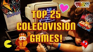 Top 25 ColecoVision Games! Tнis console has shocked me!