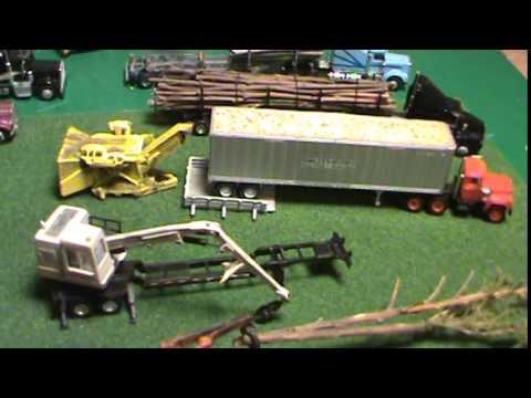 N Scale Logging