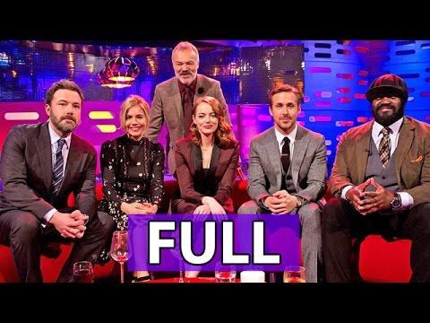 The Graham Norton Show FULL S20E14: Ben Affleck, Sienna Miller, Ryan Gosling, Emma Stone, et al.