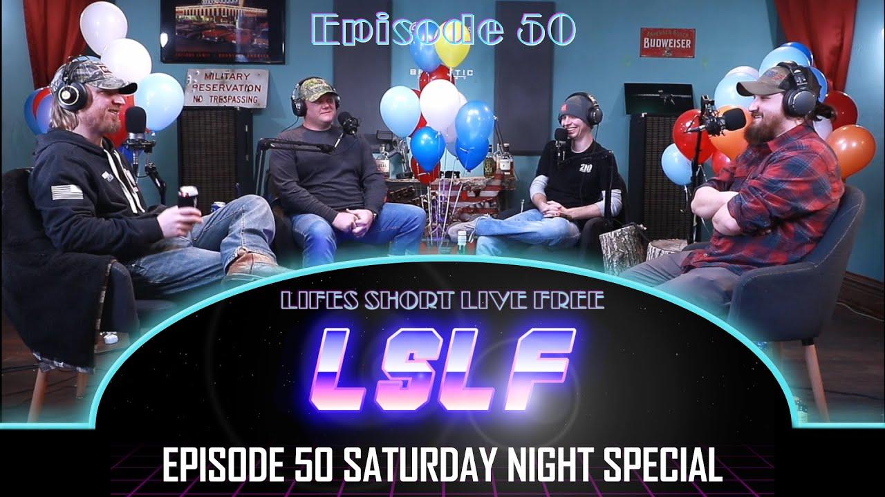 LSLF Podcast #50 - Saturday night random questions!