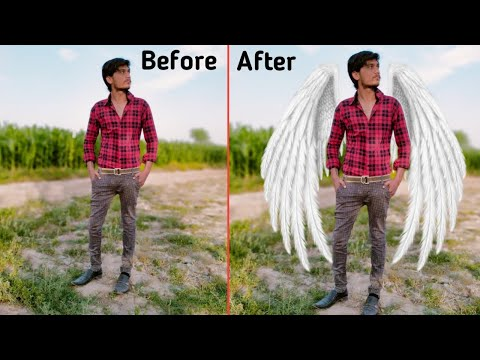 Amazing Wings Photo Editing  Instasquare Photo Editor: Drip Art, Neon Line Art 2020