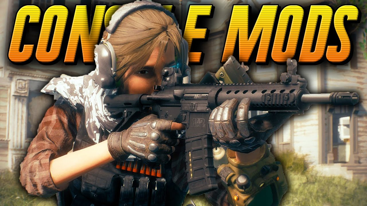 fallout 4 xbox one mods console mods cheats new weapons more
