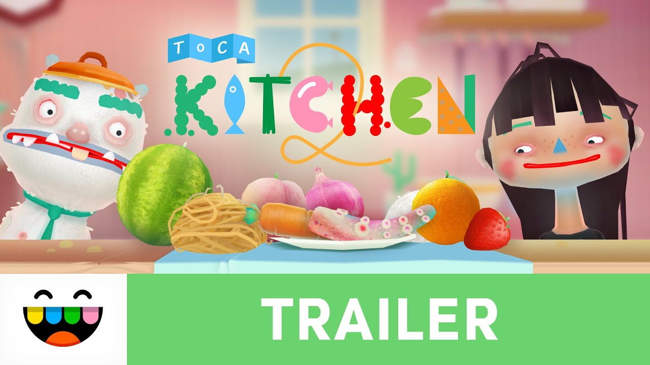 toca boca kitchen 2 Let's Get Cooking | Toca Kitchen 2 | Gameplay Trailer | @TocaBoca  toca boca kitchen 2