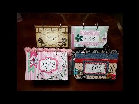 RECYCLE IDEAS: 2016 calendar with printables in English o Español