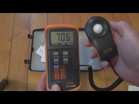 Dr.Meter LX1330B Digital Illuminance/Light Meter