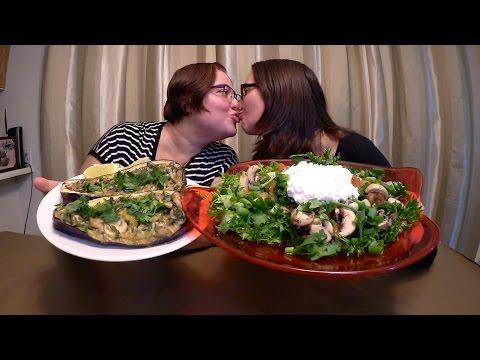 Healthy Dinner   Gay Family Mukbang (먹방) - Eating Show