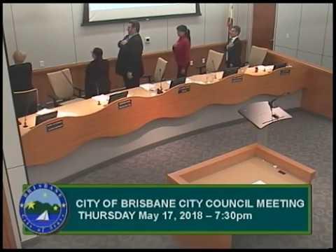 Brisbane City Council Meeting 05/17/18