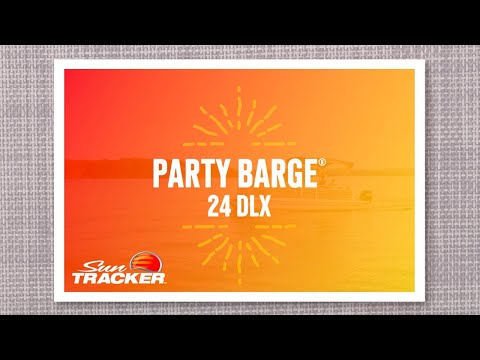 Sun Tracker Party Barge 24 DLX video