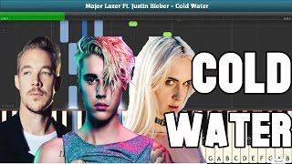 Baixar - Justin Bieber Cold Water Piano Sheet Music Easy Piano Tutorial Grátis