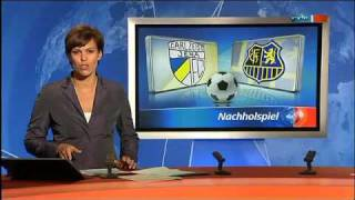 Carl Zeiss Jena - 1. FC Saarbrücken 0:7 (11.08.2010) *totlach*