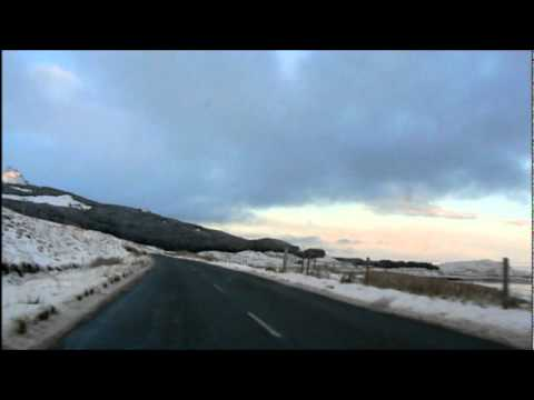 Driving from Portree to The Storr. Music, Upside Down by Paloma Faith
