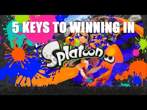 5 keys to winning in Splatoon — like don't start by painting your base