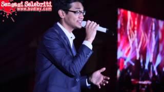 Afgan Perform Lagu Bukan Cinta Biasa di PICC Putrajaya