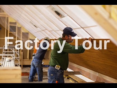 Factory Tour of Dickinson Homes