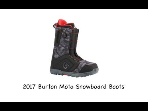 945efc3863e 2017 Burton Moto Snowboard Boots - Review - The-House.com - YouTube