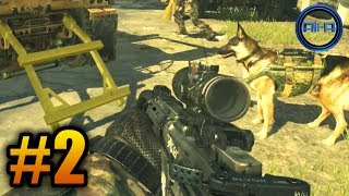 """Call of Duty: Ghosts Walkthrough (Part 2) - Campaign Mission 2 """"BRAVE NEW WORLD"""" (COD Ghost)"""