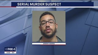 Serial killer suspect charged in murder of SMU student