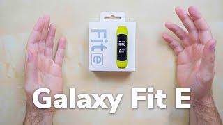 Samsung Галаксі Фіт е розпакування | ¿вбивця Miband Ла?