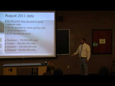 Dr. Brent King - Why Smart People Say and Do Stupid Things on the Internet - Faculty Lecture Series