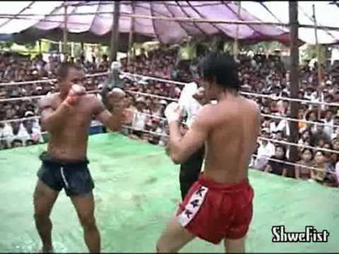 Myanmar lethwei, Poe K vs. Yaza